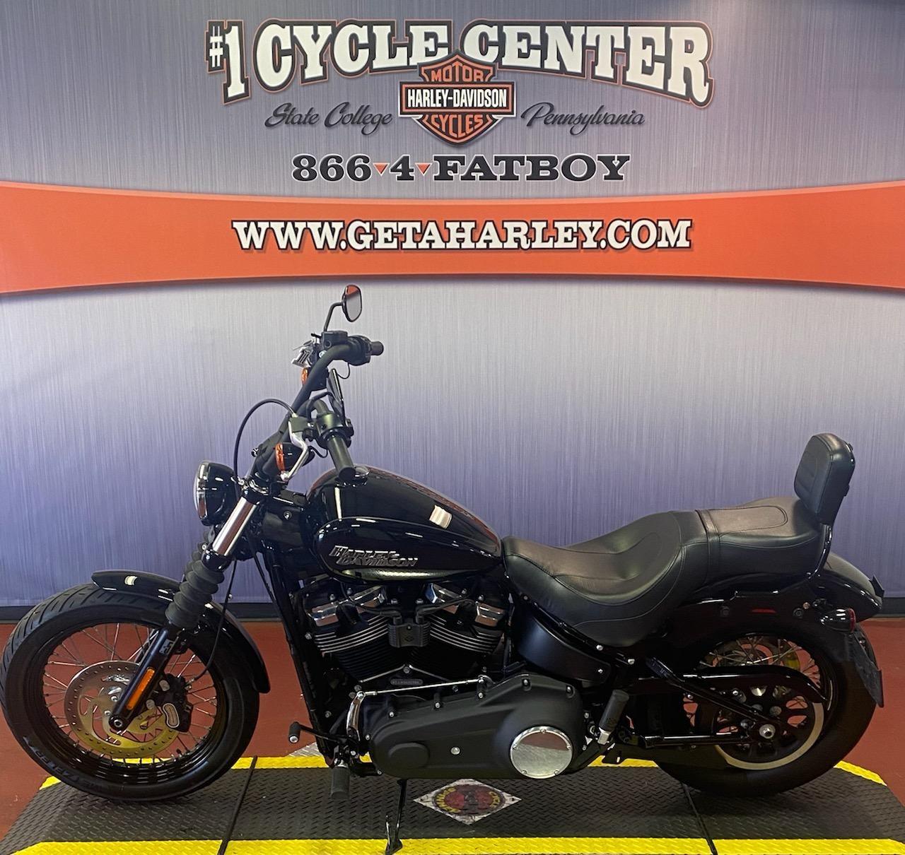 2019 Harley-Davidson Softail Street Bob at #1 Cycle Center Harley-Davidson