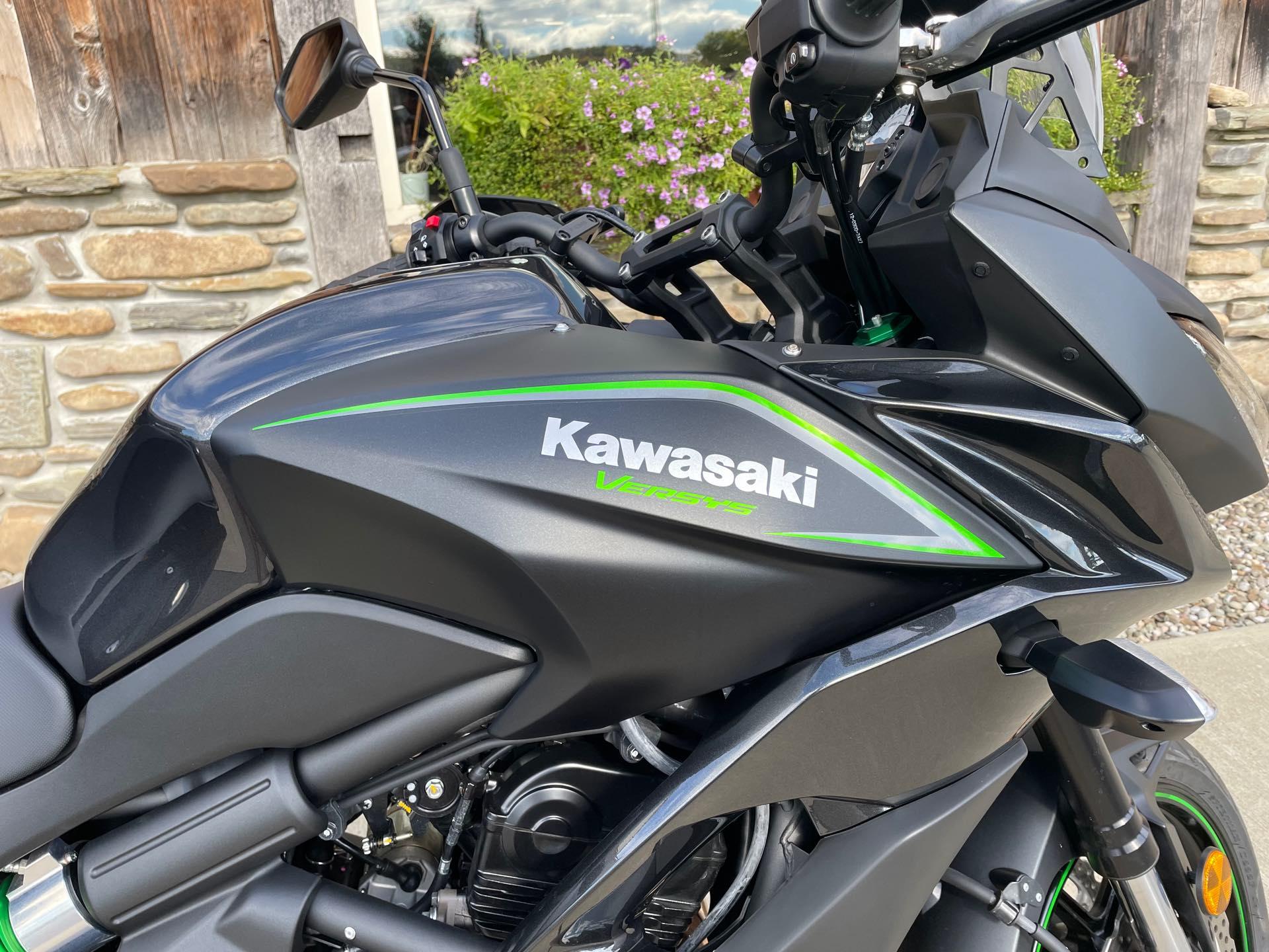 2017 Kawasaki Versys 650 LT at Arkport Cycles