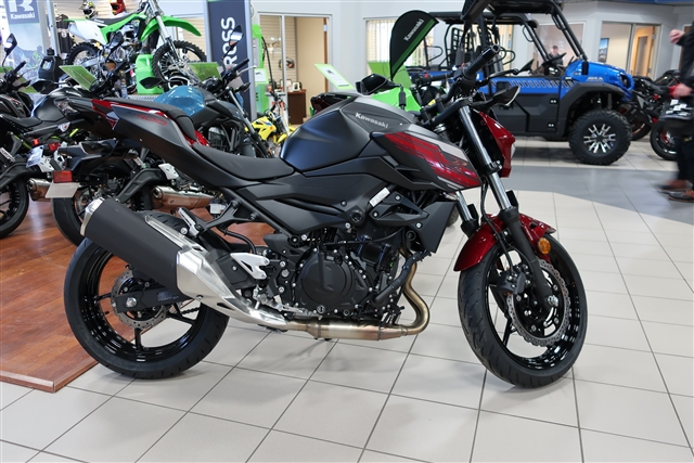 2019 Kawasaki Z400 ABS at Rod's Ride On Powersports, La Crosse, WI 54601