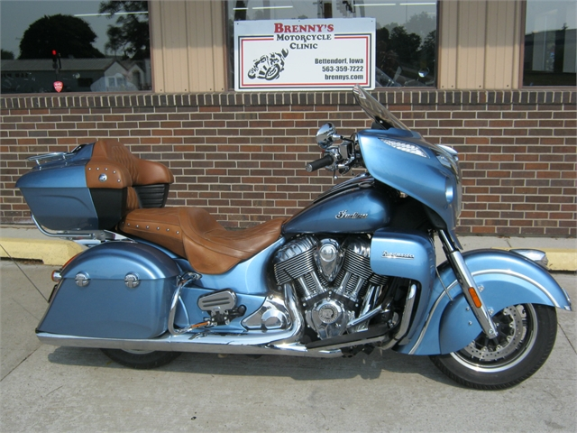 2016 Indian Motorcycle Roadmaster Blue Diamond at Brenny's Motorcycle Clinic, Bettendorf, IA 52722