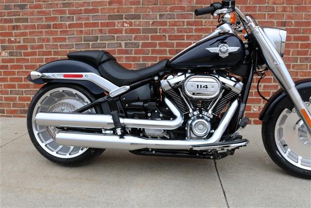 2019 Harley-Davidson Softail Fat Boy 114 at Zylstra Harley-Davidson®, Ames, IA 50010