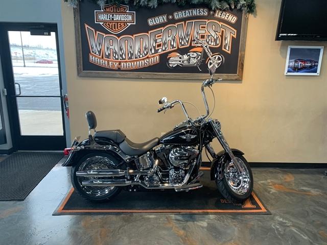 2017 Harley-Davidson Softail Fat Boy at Vandervest Harley-Davidson, Green Bay, WI 54303