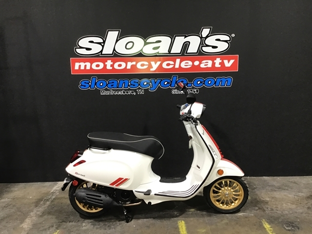 2021 Vespa SPRINT 150 RACING SIXTY SPRINT 150 RACING SIXTY BIANCO at Sloans Motorcycle ATV, Murfreesboro, TN, 37129
