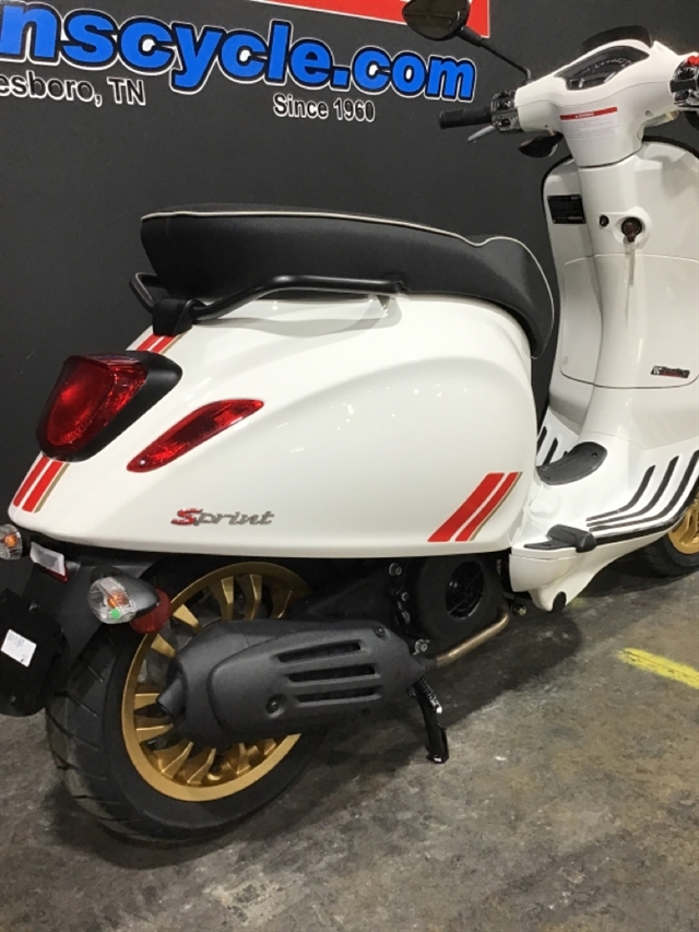 2021 Vespa SPRINT 150 RACING SIXTY SPRINT 150 RACING SIXTY BIANCO at Sloans Motorcycle ATV, Murfreesboro, TN, 37129