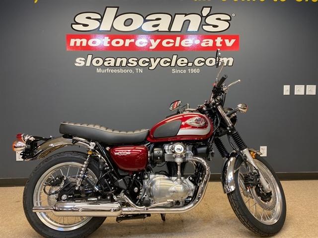 2020 Kawasaki W800 Cafe at Sloans Motorcycle ATV, Murfreesboro, TN, 37129