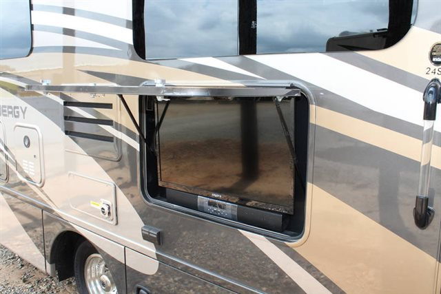 2019 Thor Motor Coach Synergy Sprinter 24SJ Rear Bedroom at Campers RV Center, Shreveport, LA 71129
