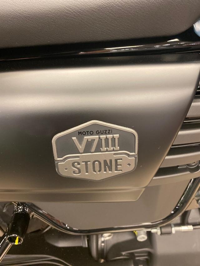 2020 Moto Guzzi V7 III Stone Night Pack at Sloans Motorcycle ATV, Murfreesboro, TN, 37129