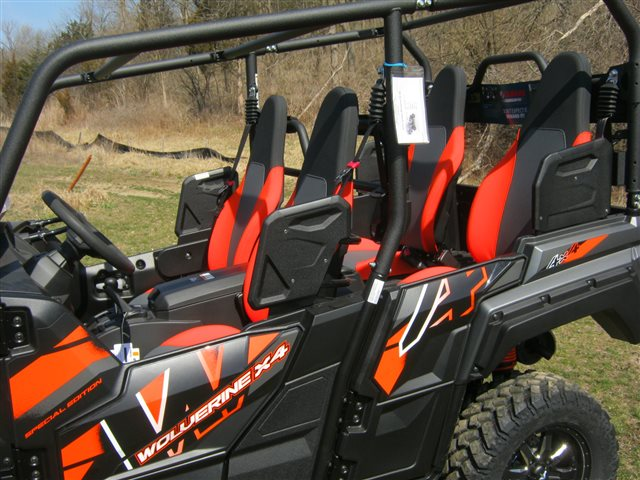 2018 Yamaha Wolverine X4 SE at Brenny's Motorcycle Clinic, Bettendorf, IA 52722