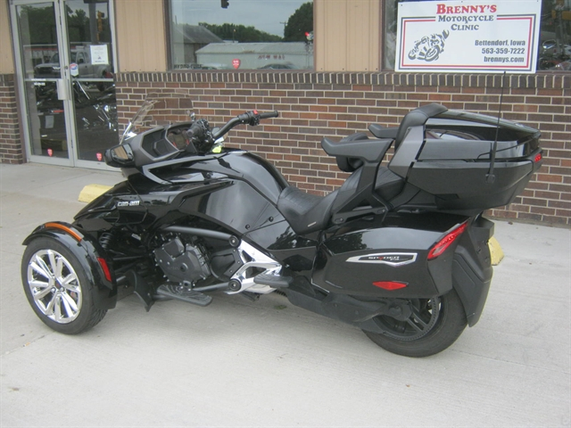 2017 Can Am Spyder F-3 Limited at Brenny's Motorcycle Clinic, Bettendorf, IA 52722