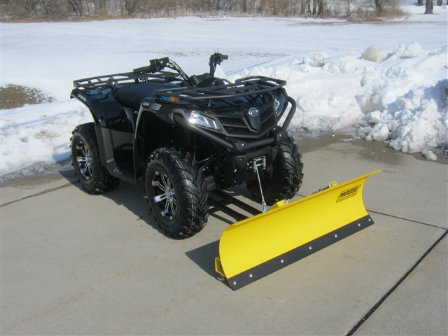2019 CFMOTO CFORCE 500S Snow Plow at Brenny's Motorcycle Clinic, Bettendorf, IA 52722
