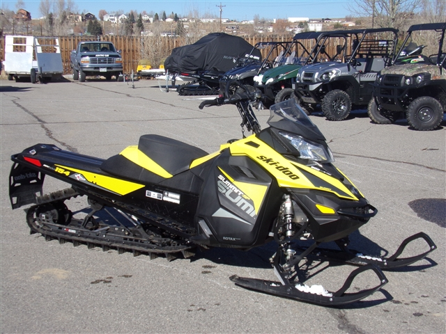2018 Ski-Doo SUMMIT 154 600 2.5-P $182/month at Power World Sports, Granby, CO 80446