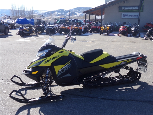 2018 Ski-Doo SUMMIT 154 600 2.5-P $182/month at Power World Sports, Granby, CO 80446