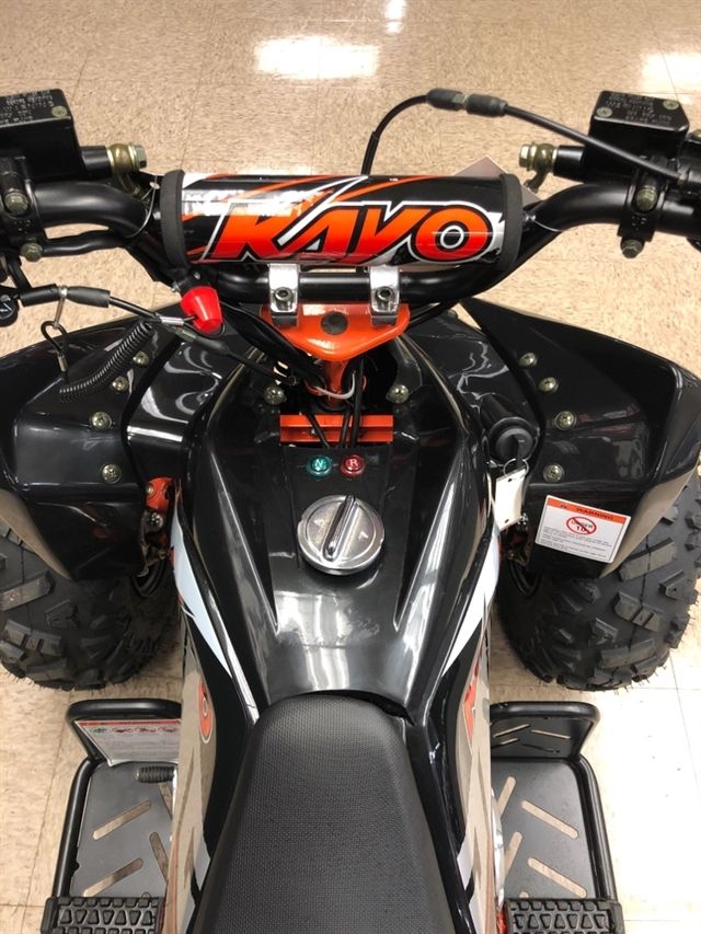 2020 KAYO USA, A & G Distributing PREDATOR 125 AT125-B-BLK at Sloans Motorcycle ATV, Murfreesboro, TN, 37129