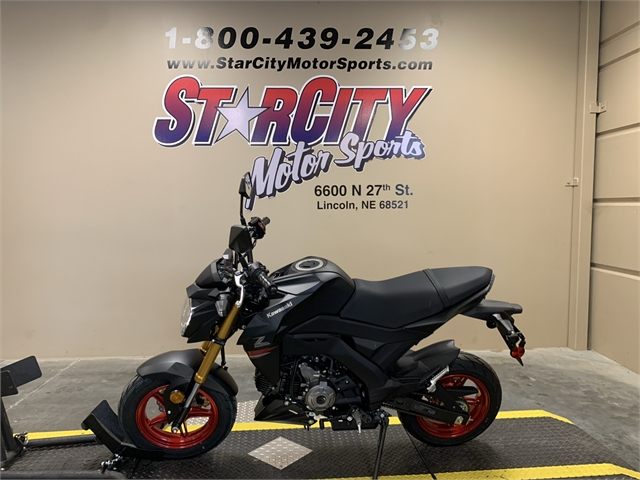 2021 Kawasaki Z125 PRO Base at Star City Motor Sports