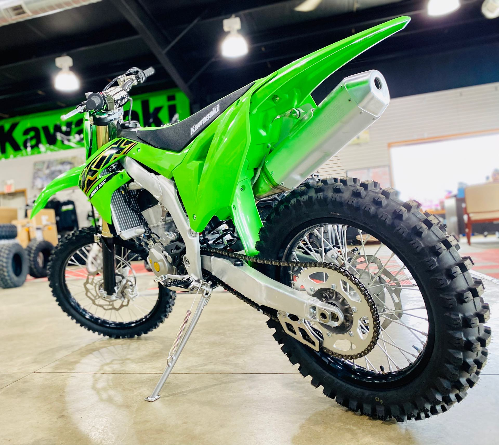 2021 Kawasaki KX 450X at Prairie Motor Sports