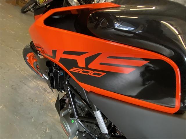 2021 KTM Duke 200 at Shreveport Cycles