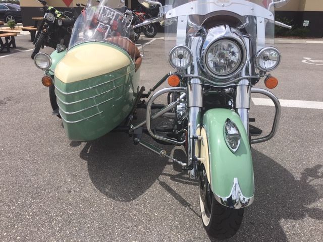 2016 Indian CHIEF VINTAGE with  Champion Side Car at Stu's Motorcycles, Fort Myers, FL 33912