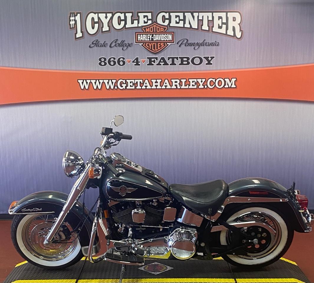 1995 Harley-Davidson FLSTN at #1 Cycle Center Harley-Davidson