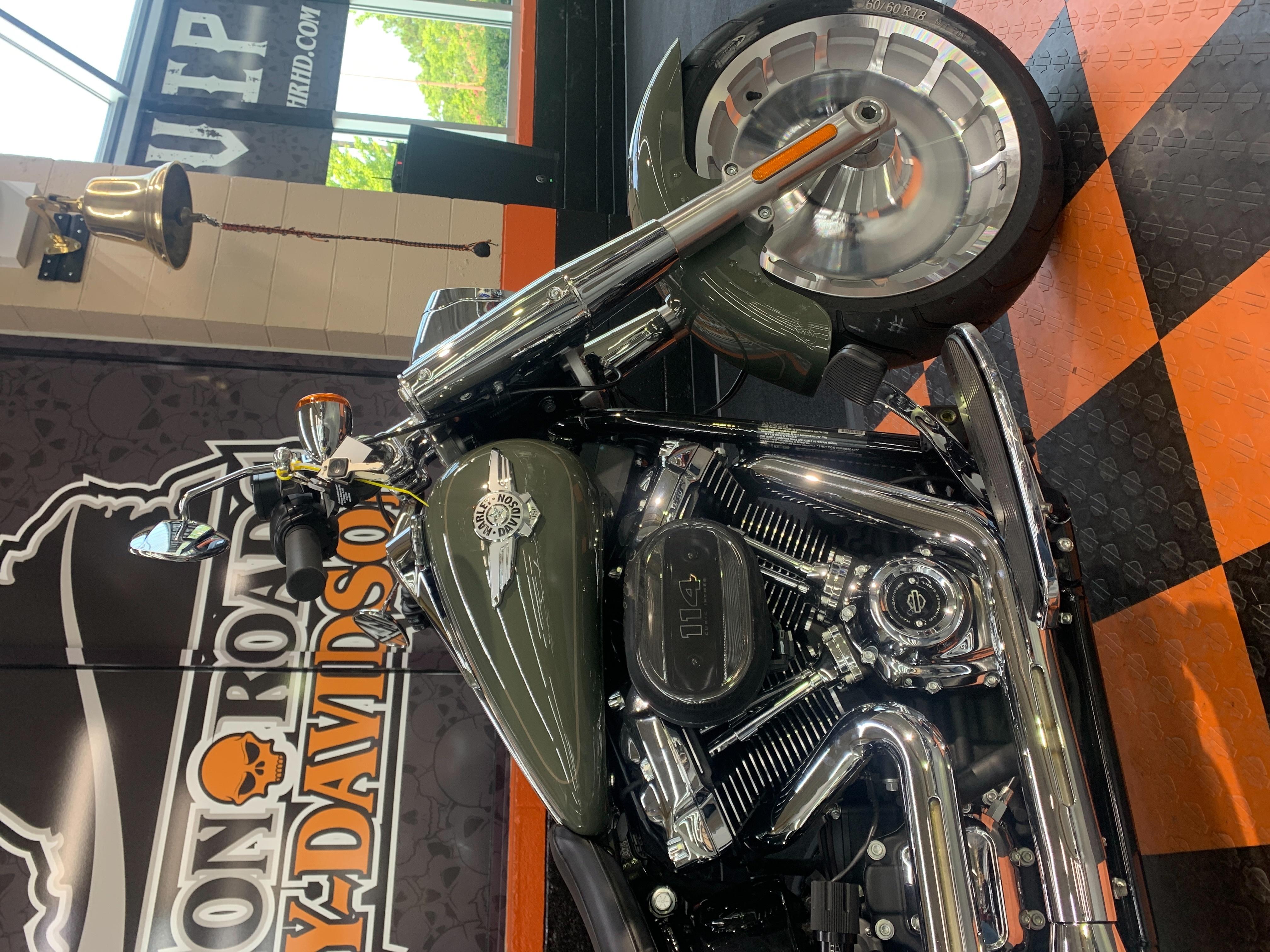 2021 Harley-Davidson Cruiser Fat Boy 114 at Hampton Roads Harley-Davidson