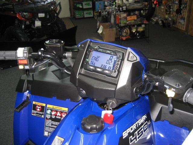2020 Polaris 450 HO EPS Sportsman-Sonic Blue at Fort Fremont Marine