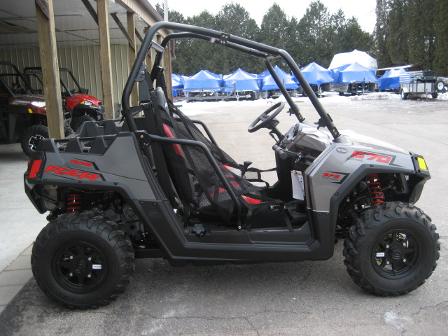 2019 Polaris RZR 570 EPS-Titanium at Fort Fremont Marine Redesign
