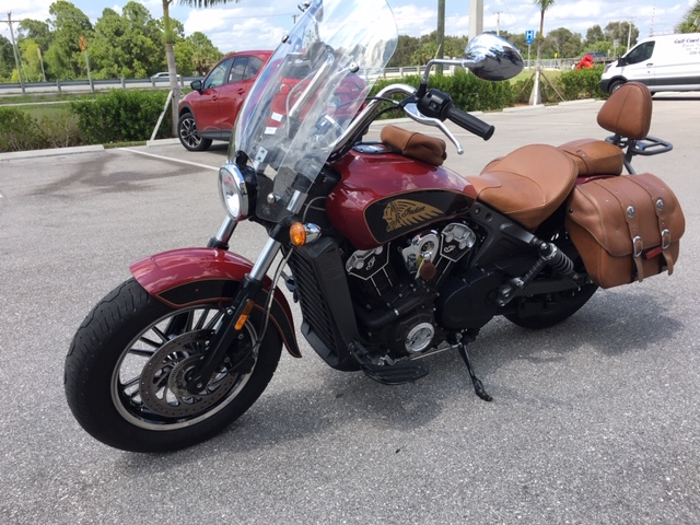 2017 Indian Scout Base at Stu's Motorcycles, Fort Myers, FL 33912
