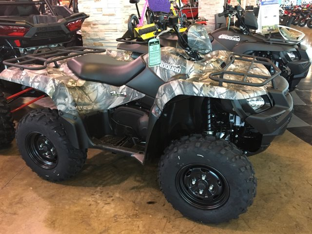 2018 Suzuki KingQuad 750 AXi Power Steering Camo at Kent Powersports of Austin, Kyle, TX 78640