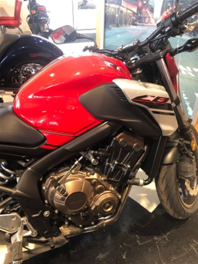 2018 Honda CB650F ABS at Genthe Honda Powersports, Southgate, MI 48195