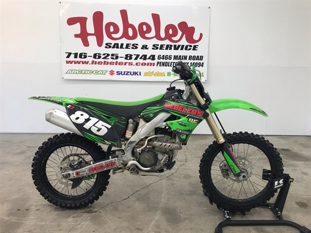 2011 Kawasaki KX 250F at Hebeler Sales & Service, Lockport, NY 14094