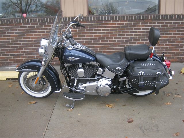 2012 Harley-Davidson Heritage Softail Classic FLSTC at Brenny's Motorcycle Clinic, Bettendorf, IA 52722