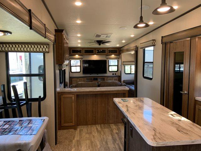 2020 Coachmen Chaparral 381RD Rear Living at Campers RV Center, Shreveport, LA 71129