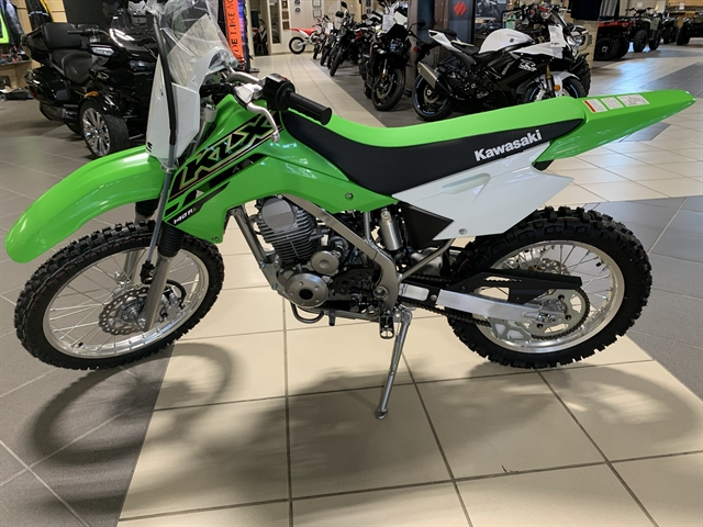 2021 Kawasaki KLX 140R L at Star City Motor Sports