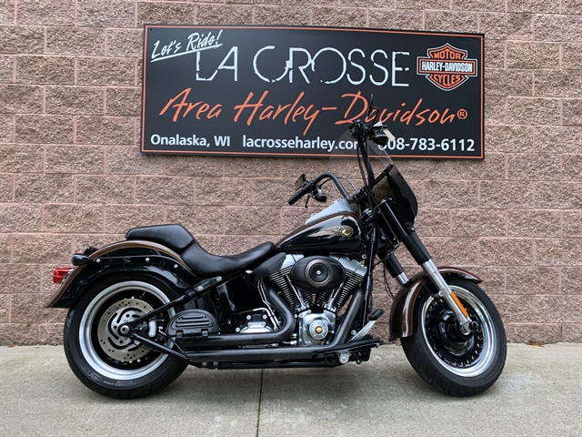 2013 Harley-Davidson Softail Fat-Boy Low Fat Boy Lo 110th Anniversary Edition at La Crosse Area Harley-Davidson, Onalaska, WI 54650