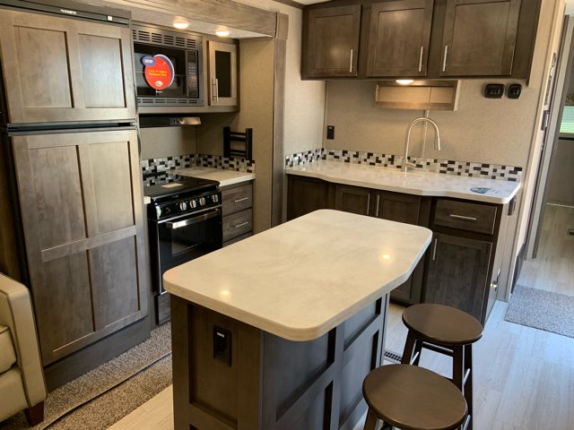 2020 Forest River Rockwood Signature Ultra Lite 8329SS Rear Living at Campers RV Center, Shreveport, LA 71129
