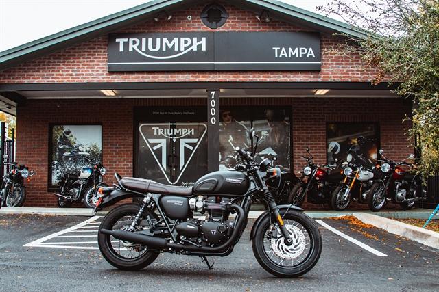 2020 Triumph Bonneville T120 black Black at Tampa Triumph, Tampa, FL 33614