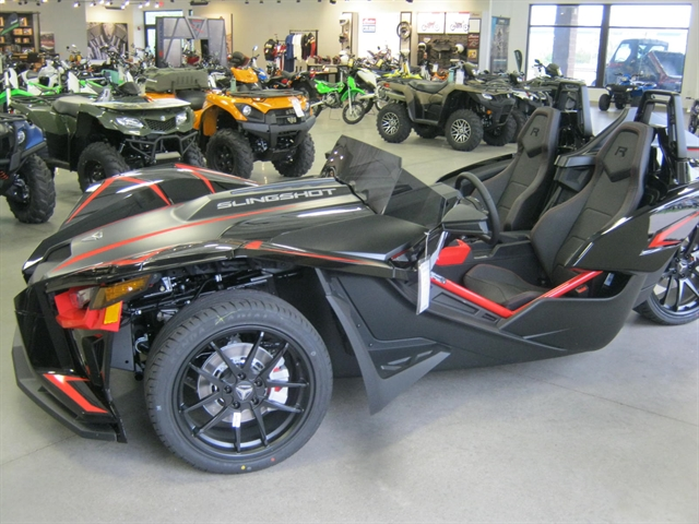 2020 Polaris Slingshot R Stealth Black Autodrive at Brenny's Motorcycle Clinic, Bettendorf, IA 52722