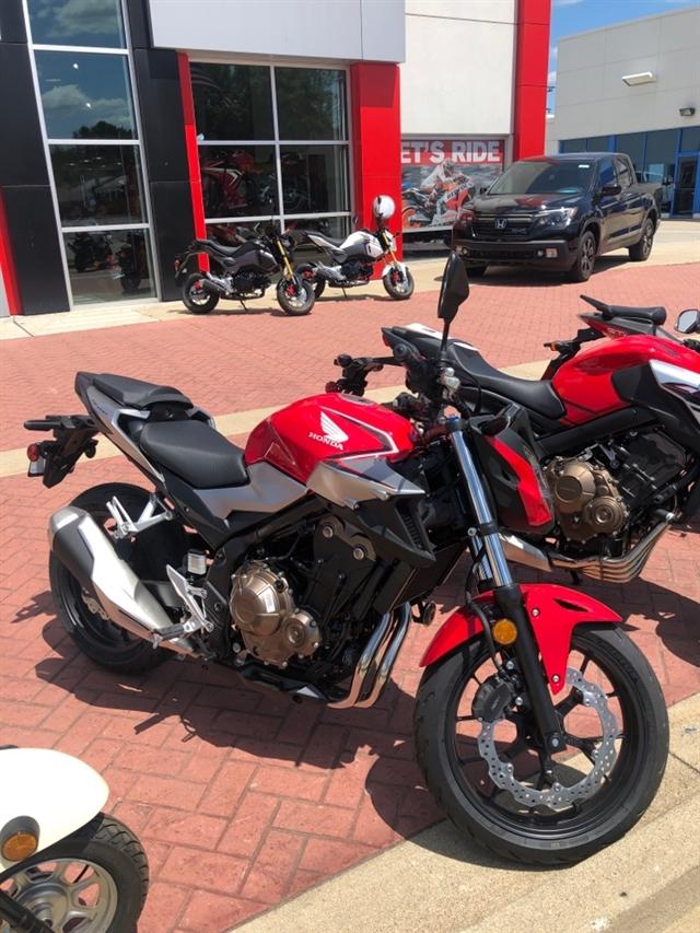 2019 Honda CB500F Base at Genthe Honda Powersports, Southgate, MI 48195