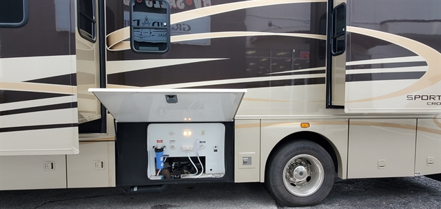 2012 Coachmen CROSS COUNTRY SPORTSCOACH 405FK at Youngblood Powersports RV Sales and Service