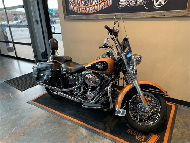 2008 Harley-Davidson Softail Heritage Softail Classic at Vandervest Harley-Davidson, Green Bay, WI 54303