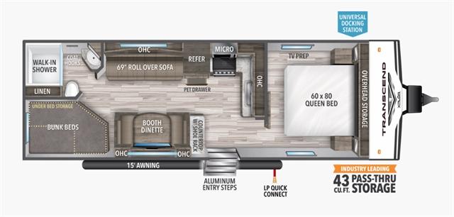 2021 Grand Design Transcend Xplor 247BH at Youngblood RV & Powersports Springfield Missouri - Ozark MO