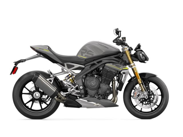 2022 Triumph Speed Triple 1200 RS Matte Silver Ice 1200 RS at Martin Moto