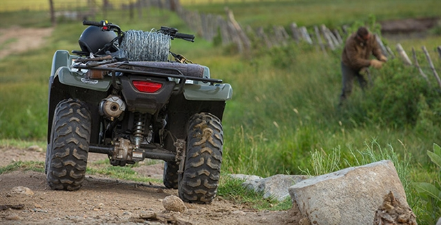 2018 Honda FourTrax Rancher 4X4 Automatic DCT IRS at Bay Cycle Sales