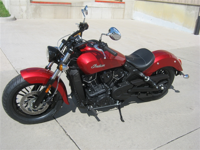 2019 Indian Motorcycle Scout Sixty ABS Ruby Sixty at Brenny's Motorcycle Clinic, Bettendorf, IA 52722