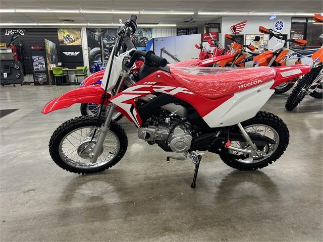 2021 Honda CRF 110F at Ride Center USA