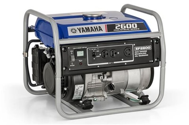 2020 Yamaha Power Portable Generator EF2600 at Santa Fe Motor Sports