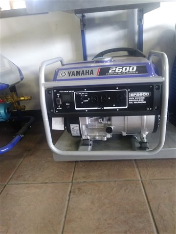 2020 Yamaha Power Portable Generator EF2600 at Santa Fe Motor Sports