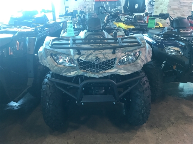 2018 Suzuki KingQuad 400 ASi at Kent Powersports of Austin, Kyle, TX 78640