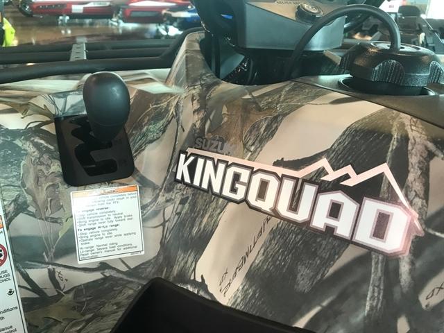 2018 Suzuki KingQuad 400 ASi at Kent Powersports of Austin, Kyle, TX 78640