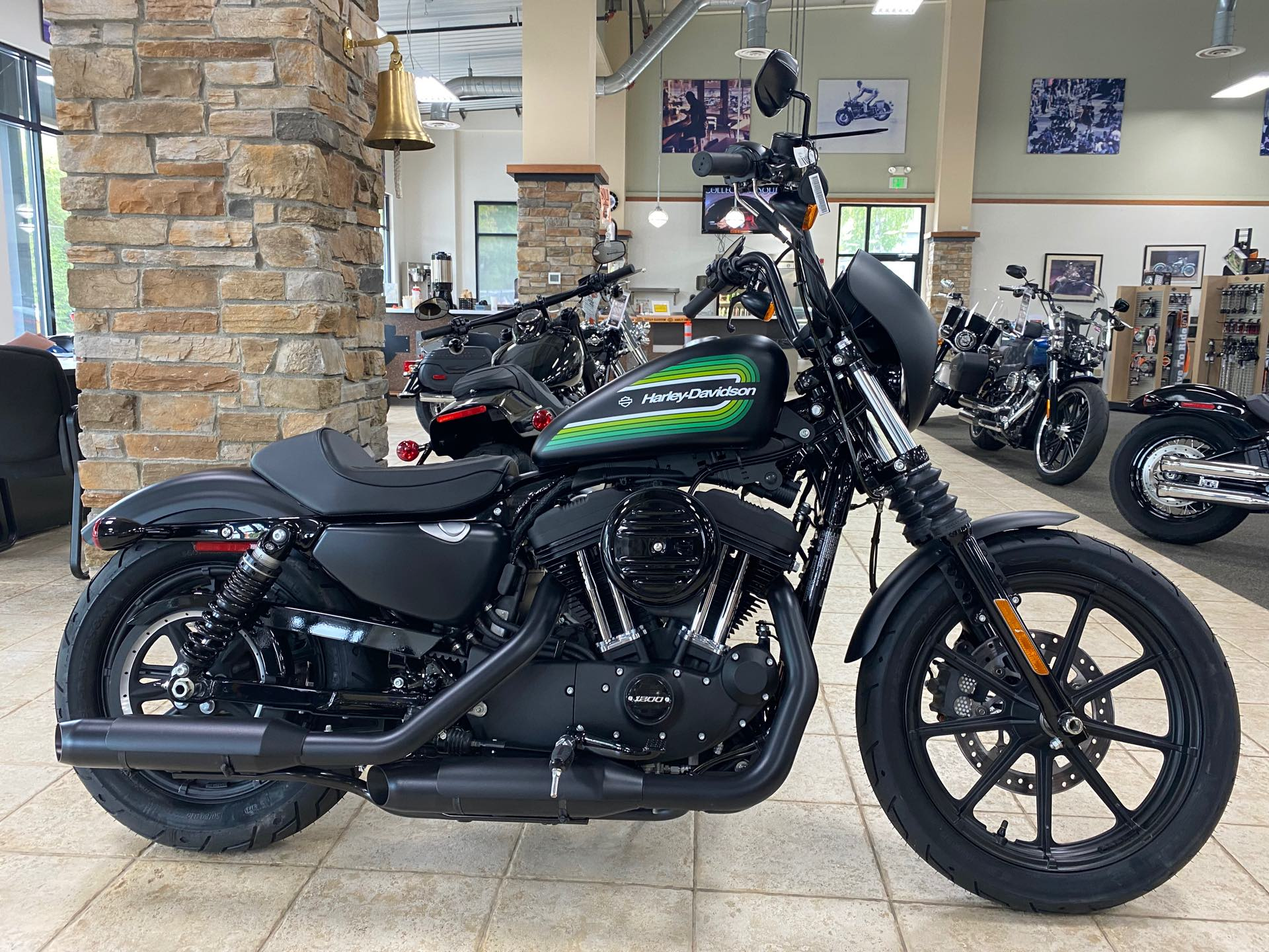 2021 Harley-Davidson Cruiser XL 1200NS Iron 1200 at Destination Harley-Davidson®, Silverdale, WA 98383