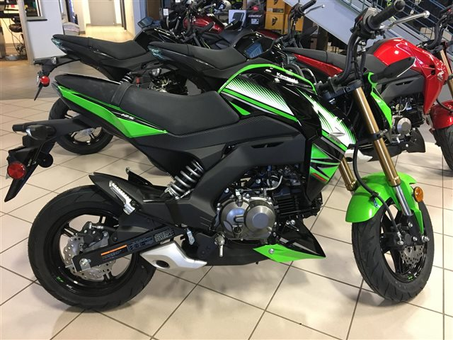 2018 Kawasaki Z125 PRO KRT Edition at Rod's Ride On Powersports, La Crosse, WI 54601